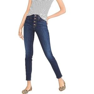 J. Crew Lookout High Rise Skinny Jeans SZ 27
